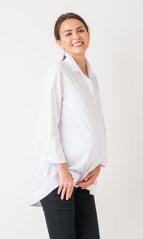 【スーン】エッセンシャルシャツ(ホワイト)[アウトレット]