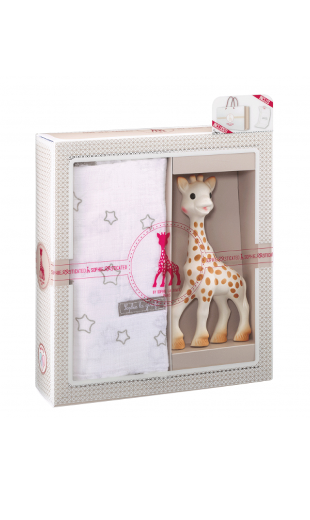 【キリンのソフィー(Sophie la girafe) 】 ソフィスティケード・スワドルセット