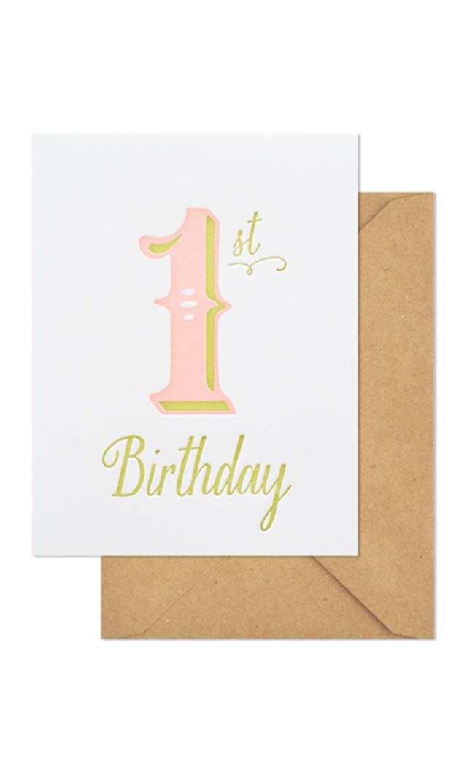 【シュガーペーパー】first birthday girl