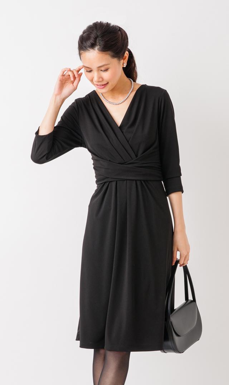 【ヴィリーナ(VIRINA)】アリアナナーシングドレス(ブラック) )