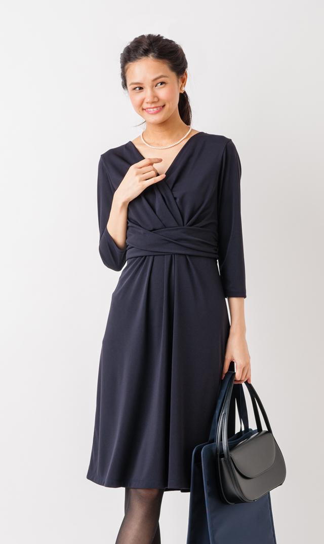 【ヴィリーナ(VIRINA)】アリアナナーシングドレス(ネイビー)