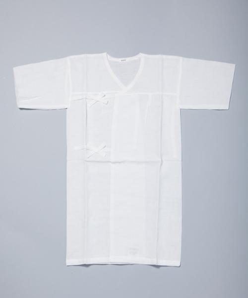 【マキエ】ガーゼ浴衣(ホワイト)