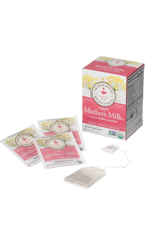 【Organic Mother's Milk】カフェインレス有機ハーブティー
