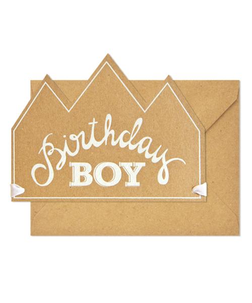 【シュガーペーパー】birthday boy crown