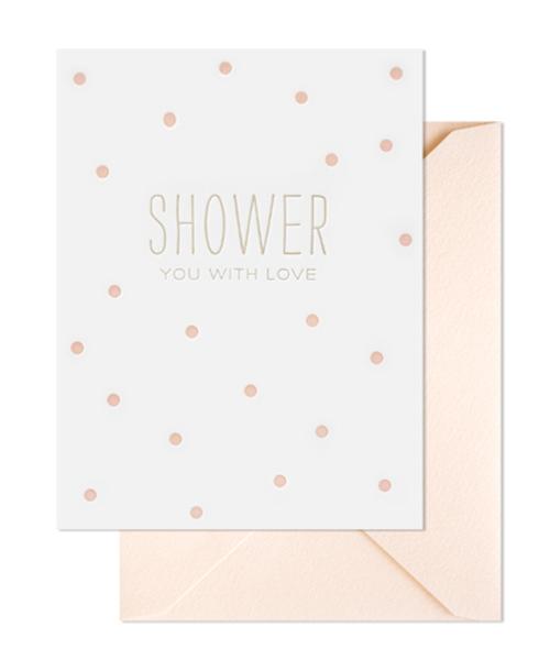 【シュガーペーパー】shower you with love, pale pink
