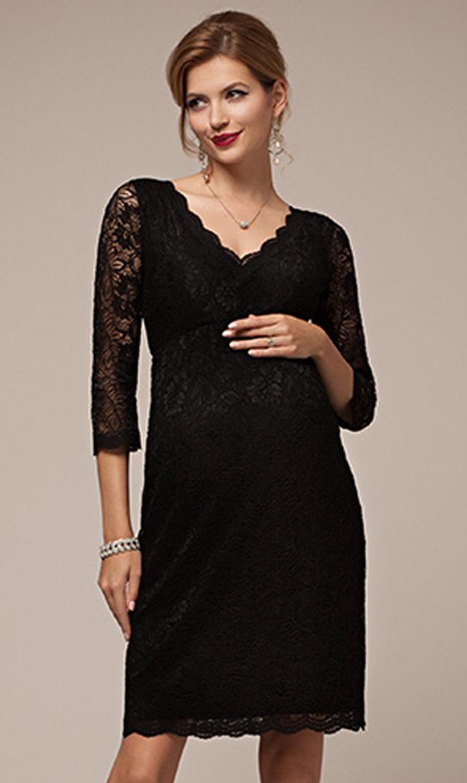 【ティファニーローズ(TiffanyRose)】クロエレースドレス(ブラック)