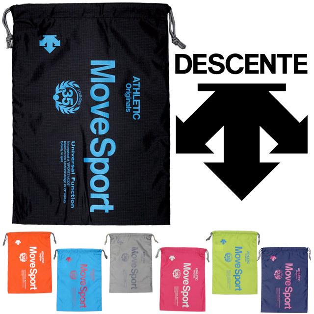 【1個までメール便OK】デサント(DESCENTE) スポーツ マルチバッグM [DAC-8718] ランドリーバッグ ナップサック 即納