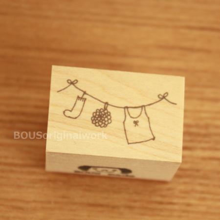 BOUSスタンプ-お洗濯日和♪