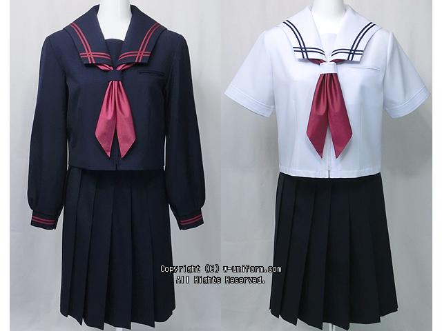 船迫中学校の制服