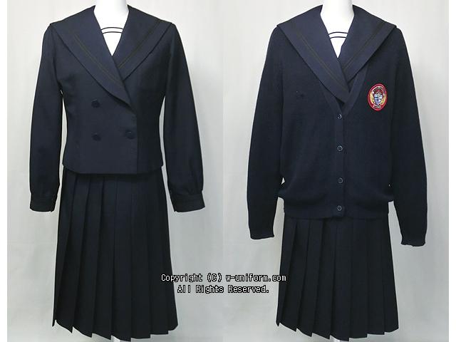 郡山商業高校の制服