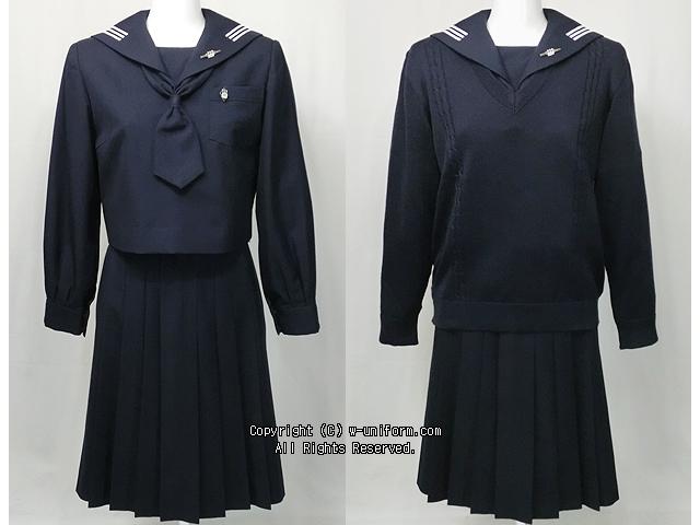 川村高校の制服