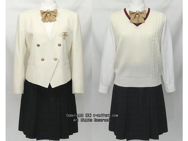 國學院大學栃木高校制服(冬)旧