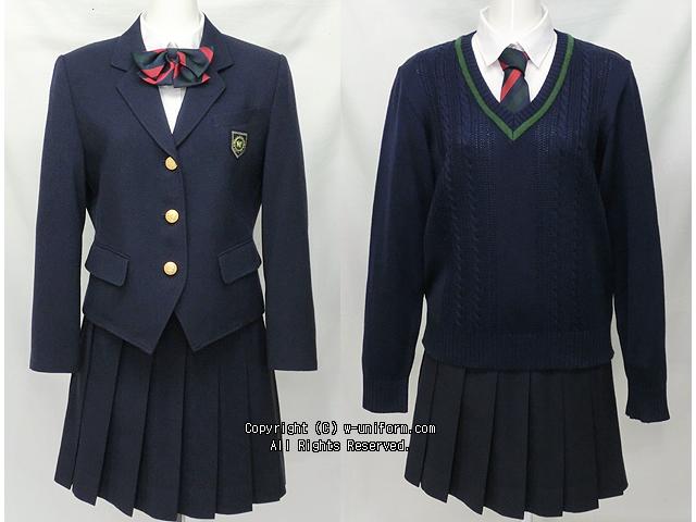 川越南高校の制服