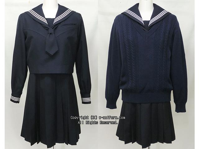 狭山ヶ丘高校の制服(冬)旧