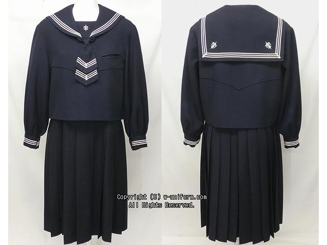 函館白百合学園の制服