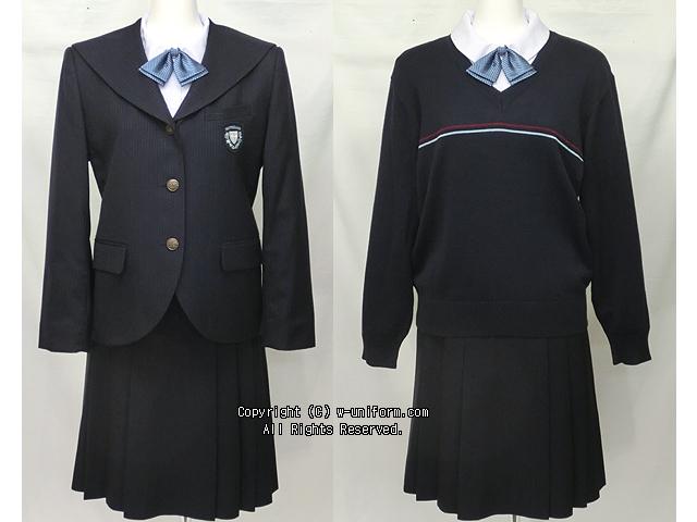 新潟清心女子高校の制服