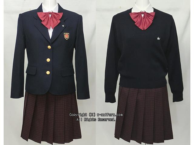 高崎健康福祉大学高崎高校の制服