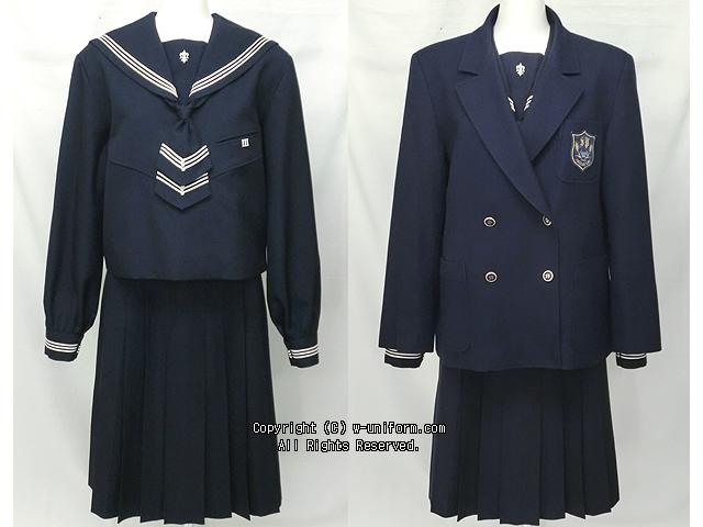 盛岡白百合学園の制服