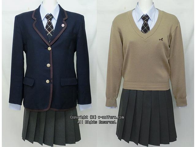 愛国高校の制服
