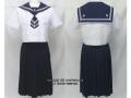八代白百合学園高校の制服