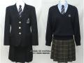 日本女子体育大学附属二階堂高校の制服
