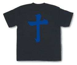 戦国武将Tシャツ・島津義弘「十」ブラックB