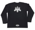 戦国武将家紋Tシャツ(長袖)「豊臣秀吉」