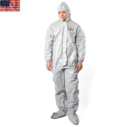 新品 米軍使用 Dupont Tychem CPF2 ケミカルスーツ(防護服)