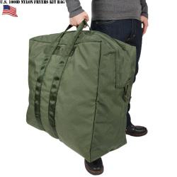 実物 新品 米軍USAF 1000D ナイロン フライヤーズ キットバッグ