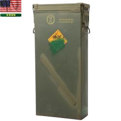 実物 米軍 81mm ILLUM M853A1 AMMO CAN ミリタリーボックス