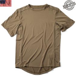 実物 新品 米軍PCU LEVEL1 Tシャツ COYOTE BROWN