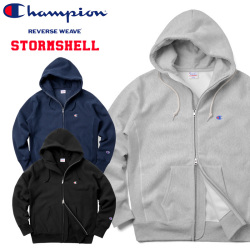 ☆複数点割引☆Champion チャンピオン REVERSE WEAVE STORM SHELL ZIP SWEAT PARKA C3-L109