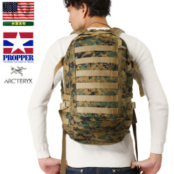 ☆15%OFFセール☆実物 新品 米軍PROPPER designed by Arc'teryx製 U.S.M.C. ILBE MAIN アサルトパック Marpat Woodland迷彩