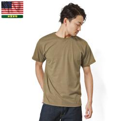 実物 新品 米軍 OCP用 MOISTURE WICKING Tシャツ TAN