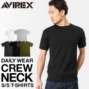 AVIREX アビレックス デイリーウエア 半袖 クルーネックTシャツ 【6143502】