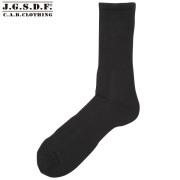 ◆C.A.B.CLOTHING J.S.D.F. 自衛隊 クールマックス パイルソックス(吸汗速乾)ブラック【6513】□