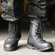 新品 米軍サイドジッパータクティカルブーツ  ブラック