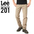 Lee リー AMERICAN STANDRD 201ストレートツイルパンツ カーキ(14)