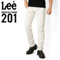 Lee リー AMERICAN STANDRD 201ストレートツイルパンツ ホワイト(18)