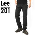 Lee リー AMERICAN STANDRD 201ストレートツイルパンツ ブラック(75)
