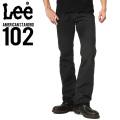 Lee リー AMERICAN STANDRD 102ブーツカットツイルパンツ ブラック(75)
