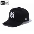 【メーカー取次】 NEW ERA ニューエラ 9FORTY D-Frame ニューヨーク・ヤンキース ブラックXホワイト 11433998 キャップ