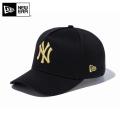 【メーカー取次】 NEW ERA ニューエラ 9FORTY D-Frame ニューヨーク・ヤンキース ブラックXゴールド 11433999 キャップ