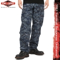 ����ڡ����оݳ���TRU-SPEC �ȥ��롼���ڥå� Tactical Response Uniform �ѥ�� NAVY Digital Camo (Midnight Digital)��1312��