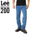 Lee リー AMERICAN STANDRD 200フルカットデニムジーンズ ブルー(97)