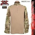 ★キャンペーン対象外★TRU-SPEC トゥルースペック TRU XTREME Combatシャツ MultiCam×COYOTE