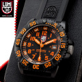 LUMINOX ��ߥΥå��� 3059 ORANGE NAVY SEALs COLOR MARK SERIES �ӻ���