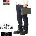実物 新品 米軍30 CAL AMMO CAN(アンモボックス) ステンシル無し