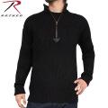 ROTHCO ロスコ 1/4 ZIP アクリル コマンドセーター ブラック