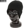 New York Hat �˥塼�衼���ϥå� 4740 BRUSHED BEANIE �֥�å���� �ӡ��ˡ���BLACK